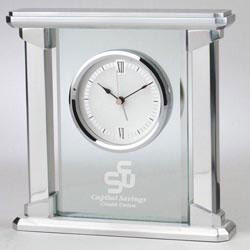 Custom imprinted Radiance Clock