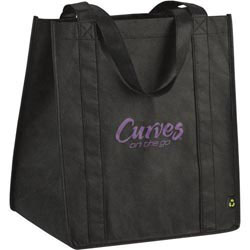 Custom imprinted PolyPro Big Grocery Tote