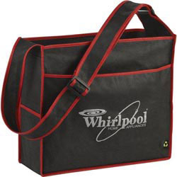 Custom imprinted PolyPro Box Deluxe Convention Tote