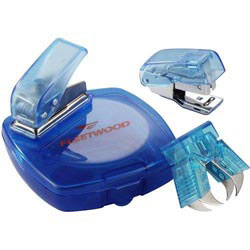 Custom imprinted Blu-Minis Miniature Office Set
