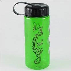 Custom imprinted 22oz Mini Mountain Bottle - Tethered Lid