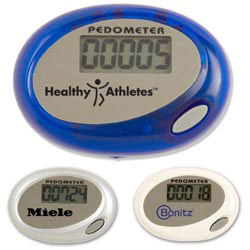 Custom imprinted E-Z Step Pedometer