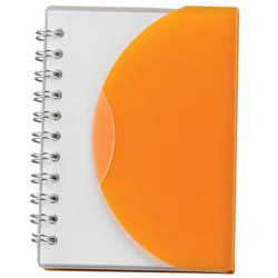 Custom imprinted Small Spiral Curve Notebook