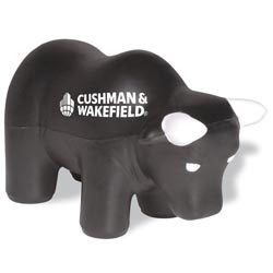 Custom imprinted Bull Stress Reliever