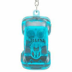 Custom imprinted Light Up Car Keytag