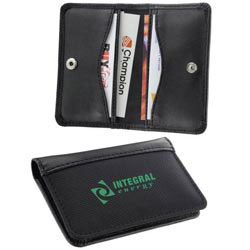 Custom imprinted Business/Credit Card Holder