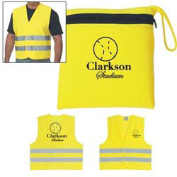 Custom imprinted Reflective Vest