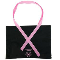 Custom imprinted Ribbon Tote
