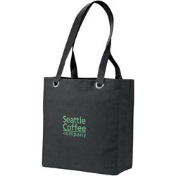 Custom imprinted 12 Oz. Cotton Convention Tote