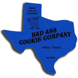 Custom imprinted World Famous Texas Jar Opener