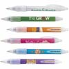 Bic WideBody Ice Retractable Pen w/ Rubber Grip