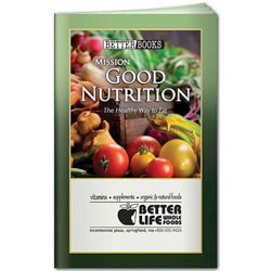 Custom imprinted Better Book: Mission Good Nutrition
