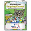 Coloring Book: Meet Rocky the Recycling Raccoon