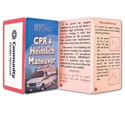 Custom imprinted Key Point: CPR