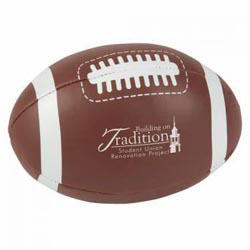 Custom imprinted Football Pillow Ball
