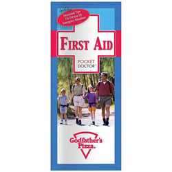 Custom imprinted Pocket Doctor: First Aid