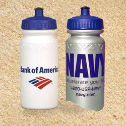 Custom imprinted American Value 20 Oz. Water Bottle