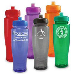 Custom imprinted Polyclean Sports Bottle
