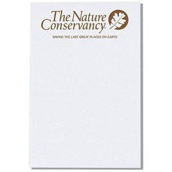 Custom imprinted Recycled Memo Notepad- 50 Sheets
