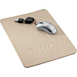 Custom imprinted Recycled Cardboard Mousepad