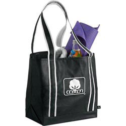 Custom imprinted PolyPro Strong Arm Tote
