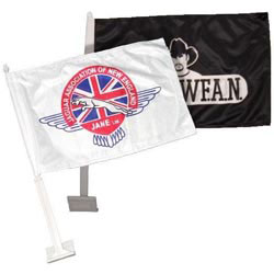 Custom imprinted Fan Flag