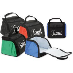 Custom imprinted Feast & Fold Lunch Cooler