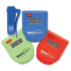Custom imprinted Color Brite Pedometer