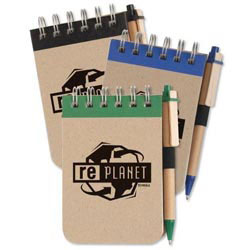 Custom imprinted Eco Jotter With Recycled Eco-Friendly Pen