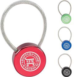 Custom imprinted Lollipop Keychain
