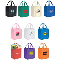 Custom imprinted Hercules Shopping Bag