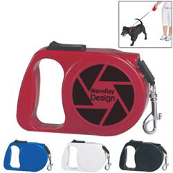 Custom imprinted Retractable Dog Leash