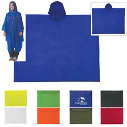 Custom imprinted Adult Poncho
