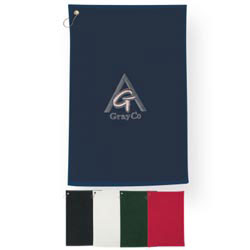 Custom imprinted Golf Towel