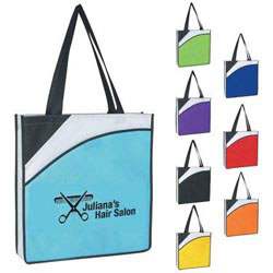 Custom imprinted Non-Woven Conference Tote Bag