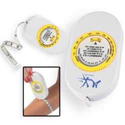 Custom imprinted Body Tape Measure With Bmi Scale