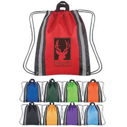 Custom imprinted Large Reflective Hit Sports Backpack