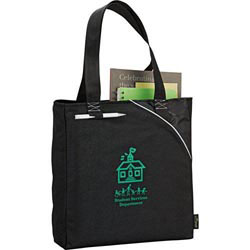 Custom imprinted Tempo 100% Recycled PET Carry-All Tote