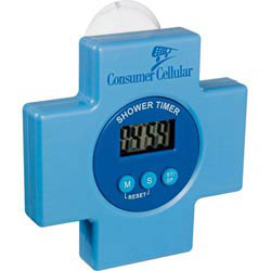 Custom imprinted Shower-Minder Water Conservation Timer