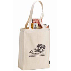Custom imprinted Essential Organic 6 oz. Cotton Grocery Tote