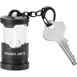 Custom imprinted CLOSEOUT Garrity 1 L.E.D. Mini Lantern Keychain