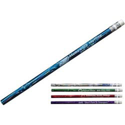 Custom imprinted Deep Swirl Pencil