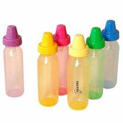 Custom imprinted 8 Oz. BPA Free Evenflo Baby Bottles