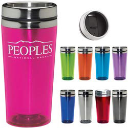 Custom imprinted Colored Acrylic Tumbler - 16 Oz.