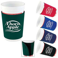 Custom imprinted Adjustable Koozie Cup Kooler