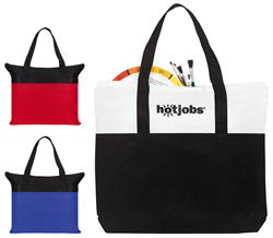 Custom imprinted Two-Tone Air-Tote