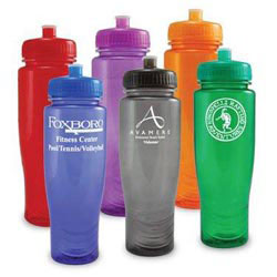 Custom imprinted 28 Oz. Polyclean Sports Bottle