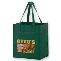 Custom imprinted Color Evolution 80 GSM Grocery Bag