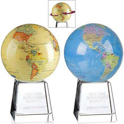 Custom imprinted Mova Globe Award
