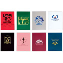 Custom imprinted Solid Color Folders